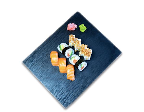 Sushi y California Maki variado