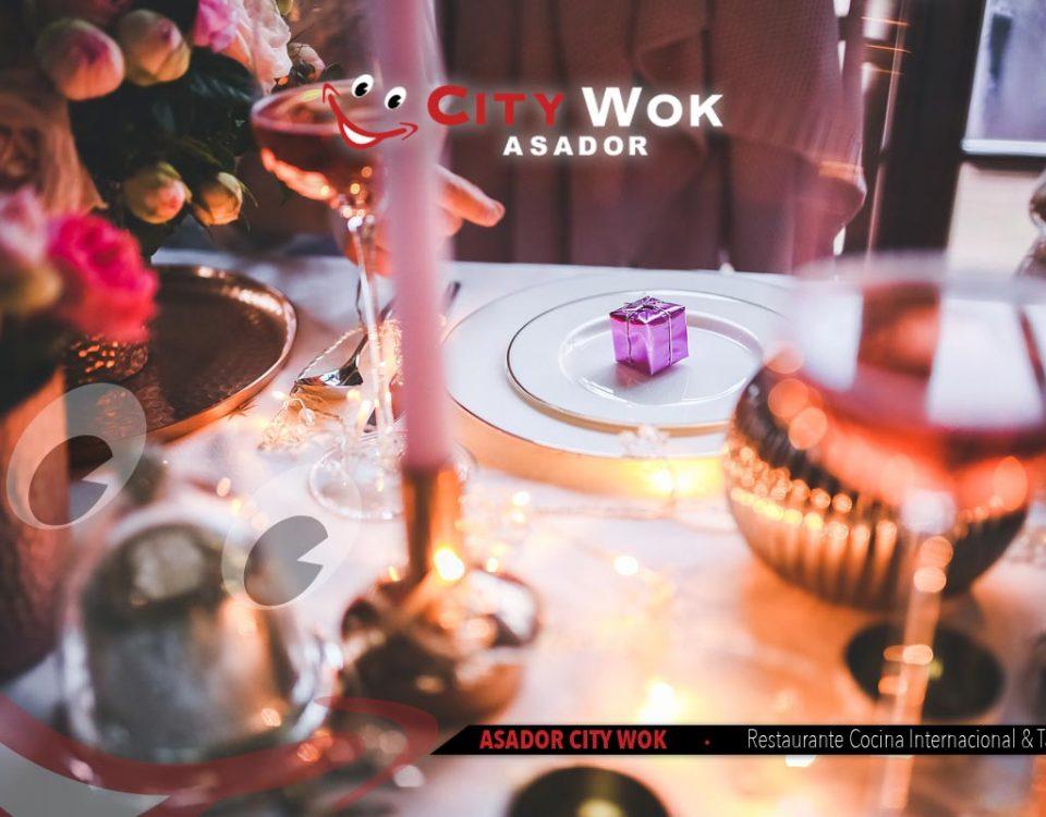 Celebra Nochebuena en Asador City Wok de Cádiz