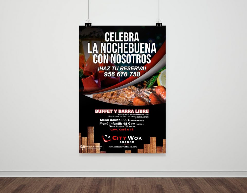 Nochebuena 2020 en Asador City Wok Cádiz